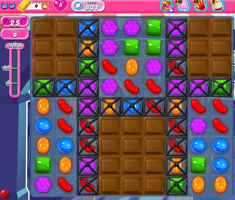 Candy Crush Saga 831