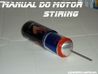 Manual do motor Stirling, cilindro quente com pistão deslocador