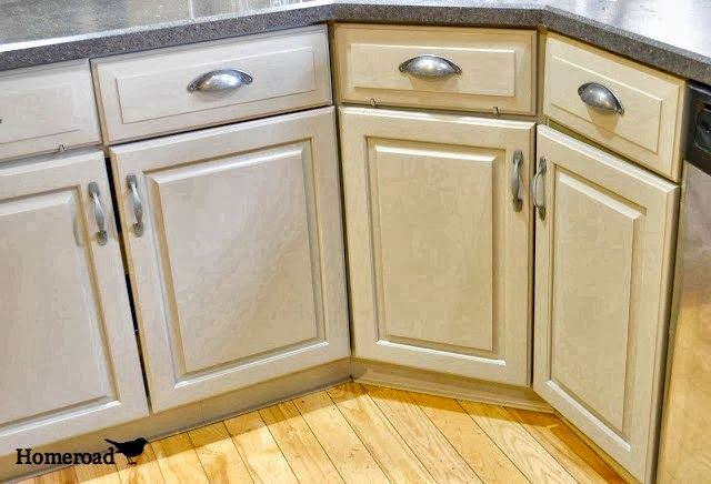 Homeroad Chalk Painted Kitchen Cabinets