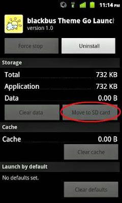 Memindahkan Aplikasi Android ke Memori Eksternal (SD Card)