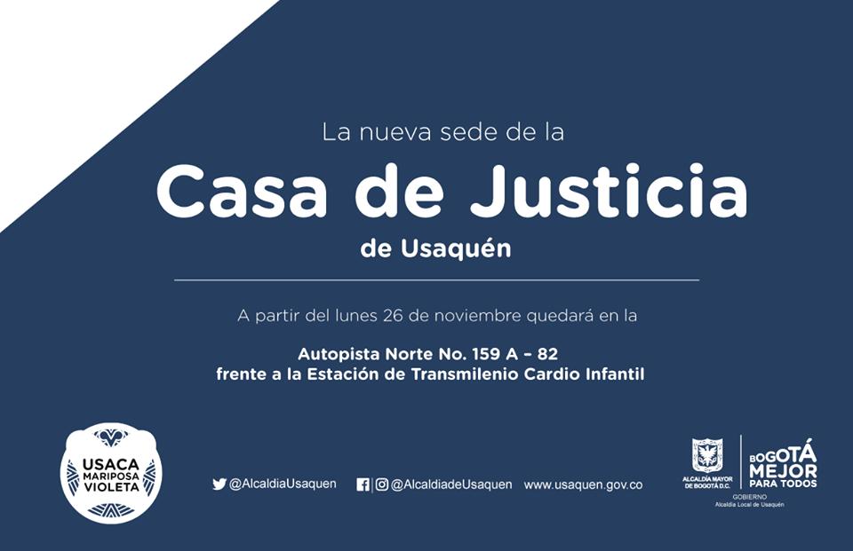 Nueva sede de la Casa de Justicia en Usaquén