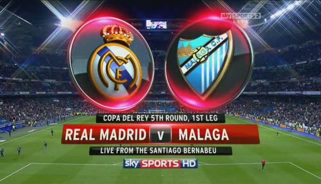 Watch Real Madrid vs Malaga Online LIVE Free La Liga 08.05.2013
