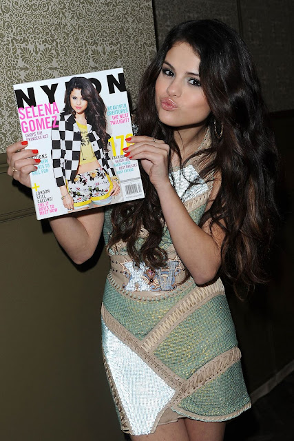 Selena Gomez at Nylon Magazine February Issue Celebration at The Soho House