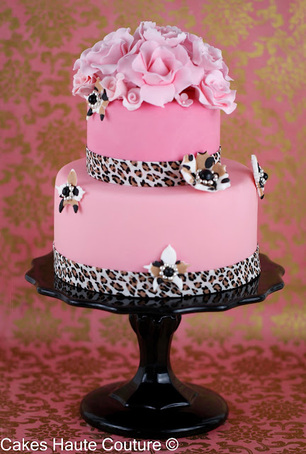 Tutorial de pasteles animal print y cursos on-line