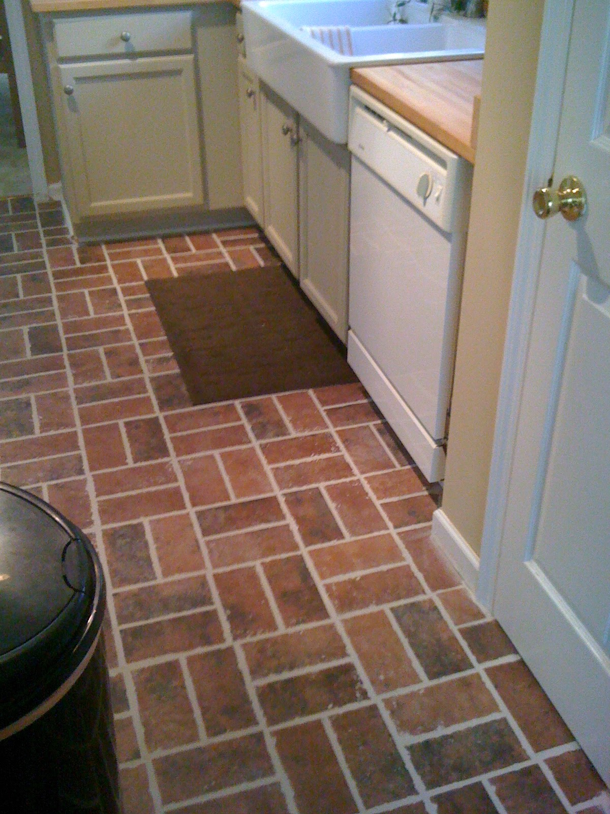 Live and Learn: Rustic Kitchen Floor