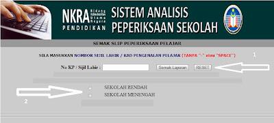 Semakan Secara Online dan SMS Keputusan SPM 2012