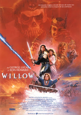 Willow, Ron Howard, George Lucas, Val Kilmer, Warwik Davis