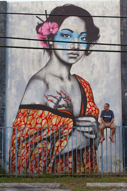 """Orinoko"" New Mural By Irish artist Fin DAC In Wynwood, Miami, Florida. 2"