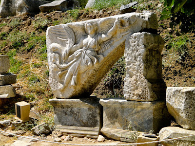 Goddesss of Nike Ephesus Turkey