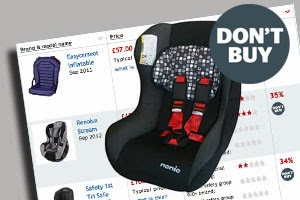 Help! Where's The Map?: Asda Car Seat Unsafe