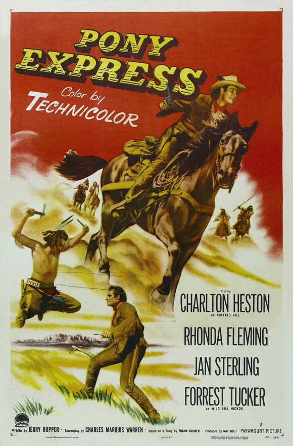 Frontier Pony Express movie