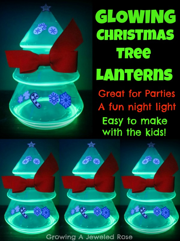 DIY Christmas Tree Lanterns