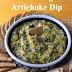 Baked Artichoke and Arugula Dip