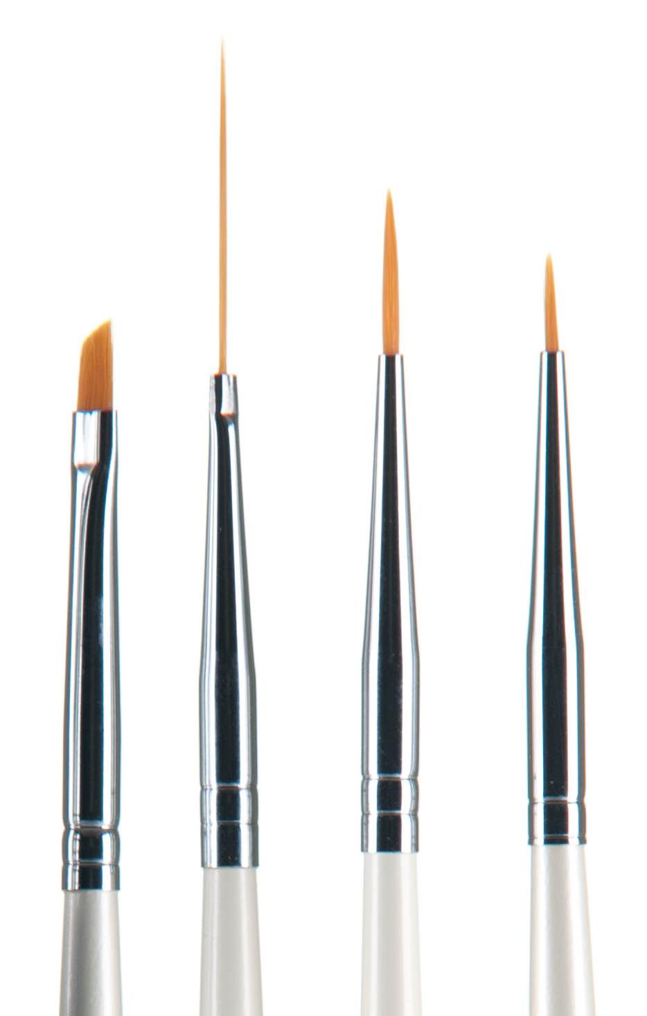 rengöra torkade penslar