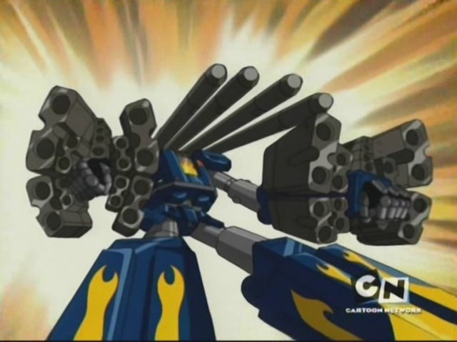 Megas XLR American Cartoon