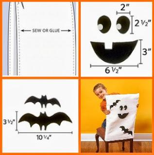 Fundas de Sillas para Halloween, Como Hacerlas, Paso a Paso