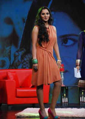 saniya mirza at ndtv tv program actress pics