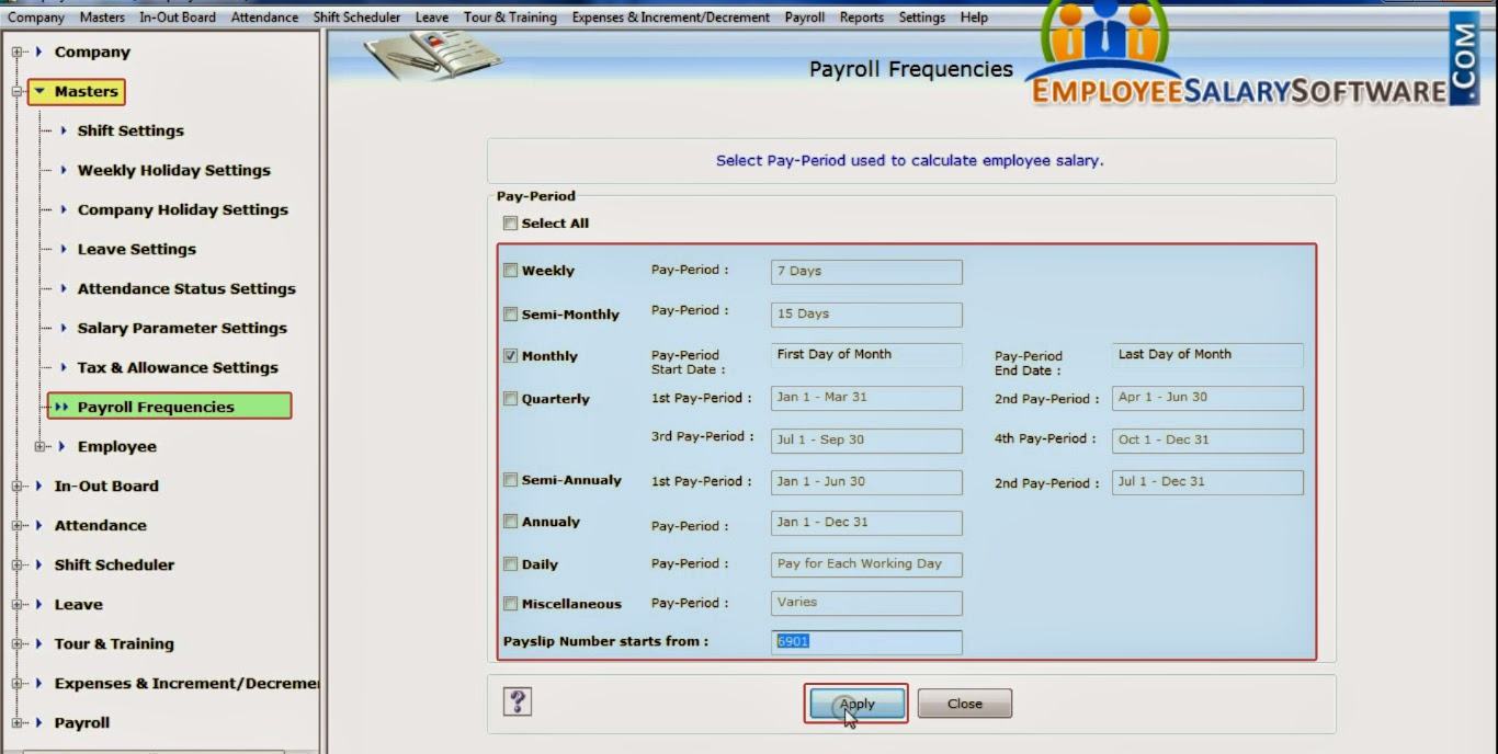 DRPU Employee Planner Software Generate Employee Pay Slip Payroll  Frequencies Generate Employee Pay Slip. Employee Salary Slip Format  Pdf  Employee Salary Slip Format Pdf