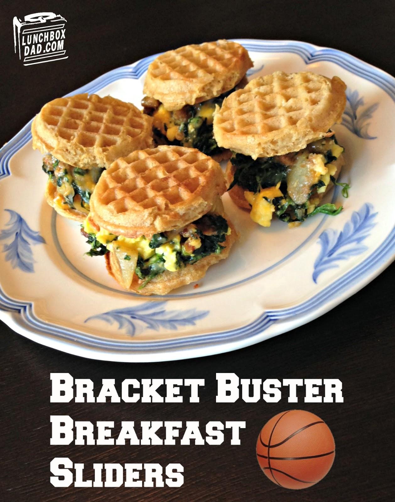 Bracket Buster Breakfast Sliders #FrozenChefMadness