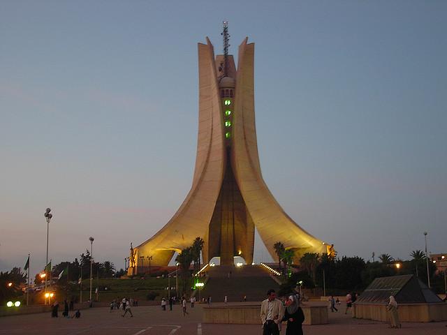 Memorial martyr - Algeria  #Travel #Algeria #Monuments