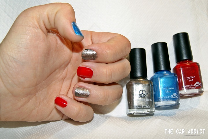 Blogger Lisa reviews and tests the new Mercedes-Benz Nail Polish