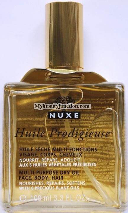 NUXE Huile Prodigieuse Multi-purpose Dry Oil review, usage, photos