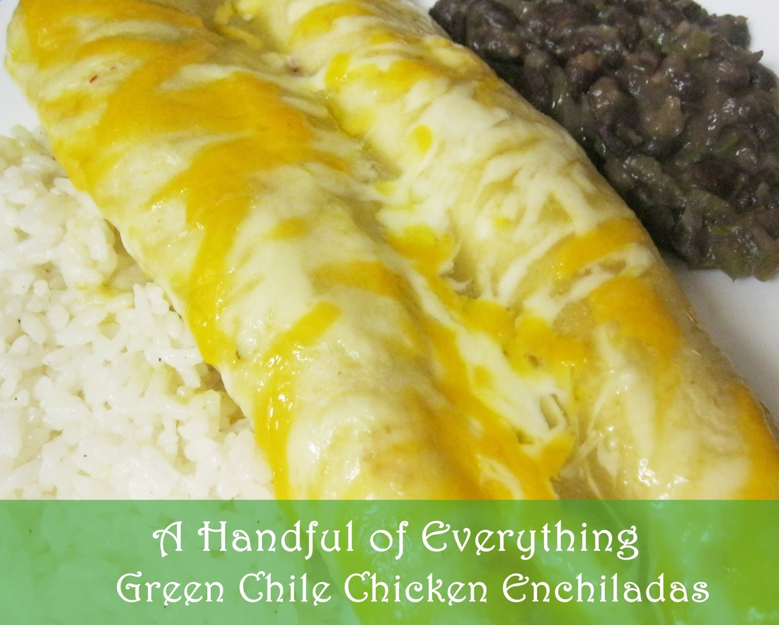 green chile chicken enchiladas 2 10 oz cans green enchilada