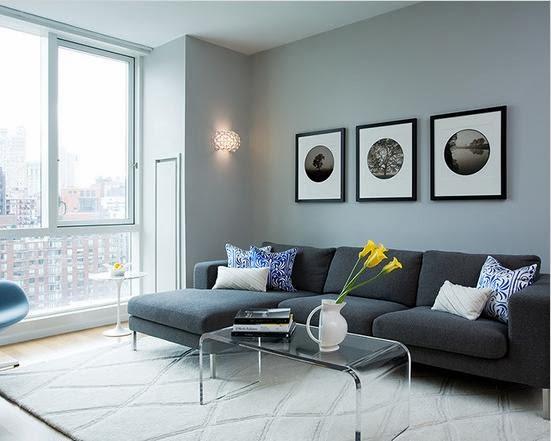 warna ruang tamu modern