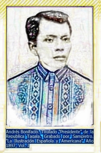 supremo andres bonifacio Perryscope by perry diazon july 7, 1892, andres bonifacio, together with deodato arellano, valentin diaz, teodoro plata, ladi.