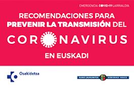 Recomendaciones coronavirus
