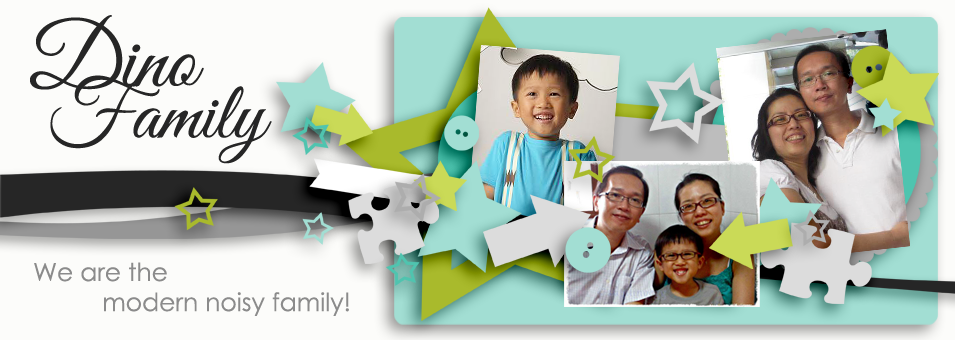 We are the DinoFamily 我們是恐龍家族 | Singapore Parenting Blog