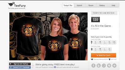 inspiracion diseño web camisetas