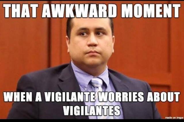 zimmerman awkward moment vigilante meme political memes george zimmerman's awkward moment,George Zimmerman Memes