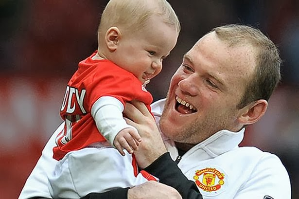 Wayne Rooney As A Baby