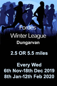Winter series in W Waterford - Nov 2019 to Feb 2020