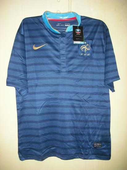 Jersey Prancis Home Euro 2012
