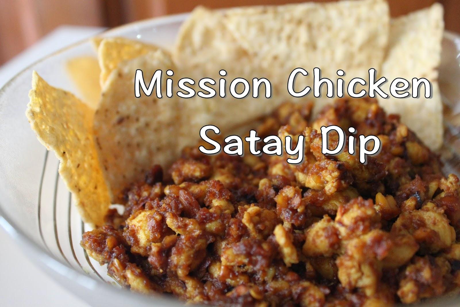chicken satay dip
