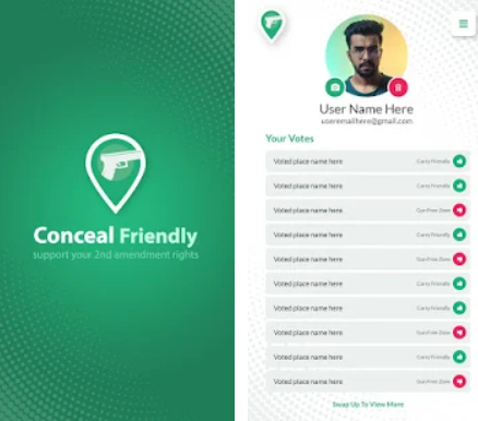 Travel & Local App of the Month - Conceal Friendly