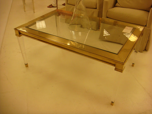 atlanta interior designer features Deco inspired table by Modern History