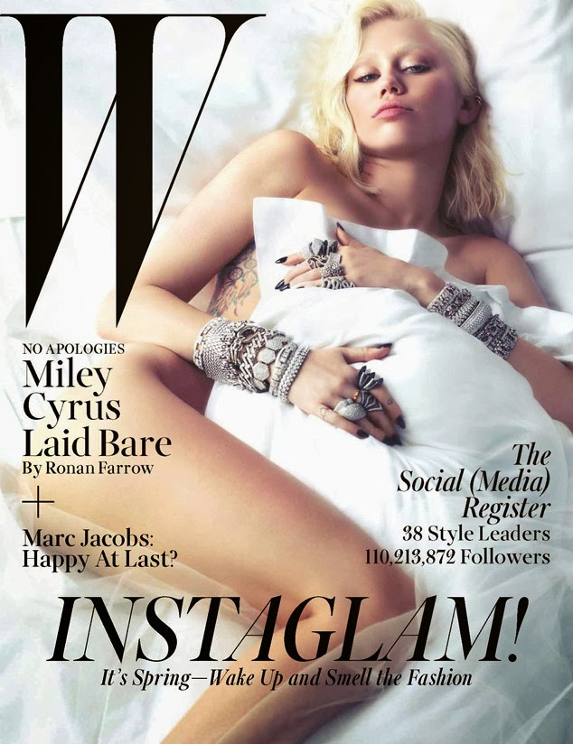 Miley CYrus, Whorrified, V magazine, Ronan Farrow,