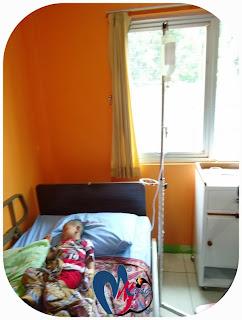 Gigin Anak Mamang di Rawat di Rumah Sakit Ibu dan Anak Mutiara Hati