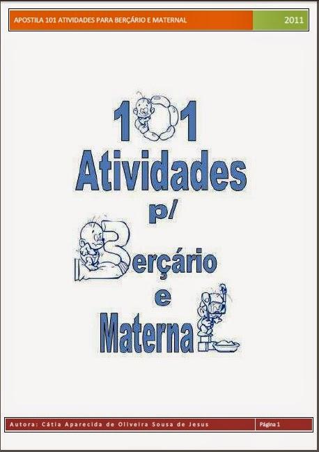Apostila 101 Atividades para Berçário e Maternal
