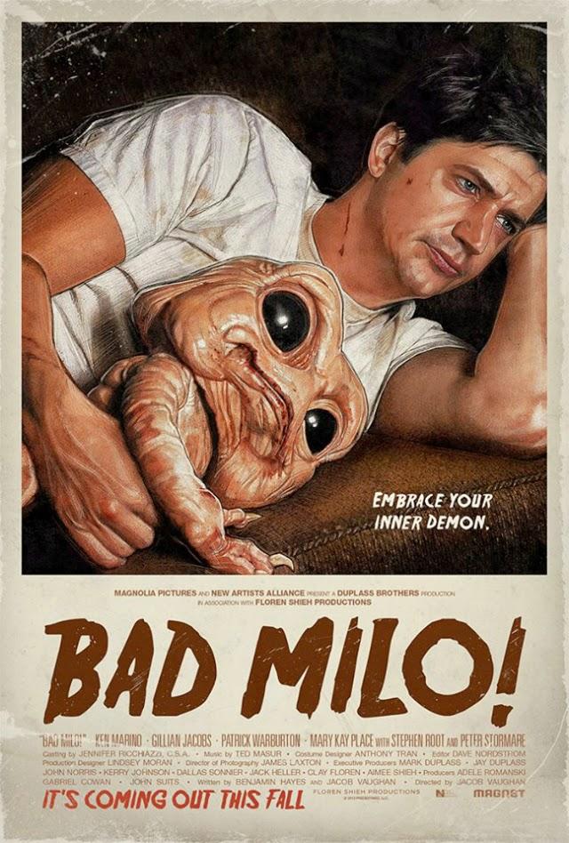 La película Bad Milo! ( Bicho malo )