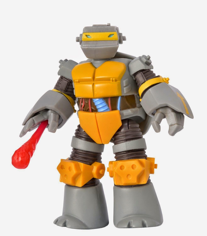 JUGUETES - LAS TORTUGAS NINJA  Metalhead | Figura - Muñeco  Producto Oficial | Playmates 90512 | A partir de 4 años