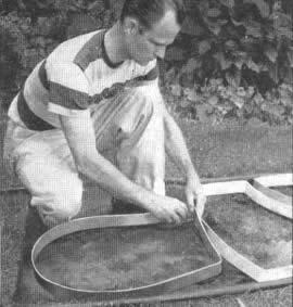 Construya su propio camino de baldosas interesante idea for Baldosones de cemento