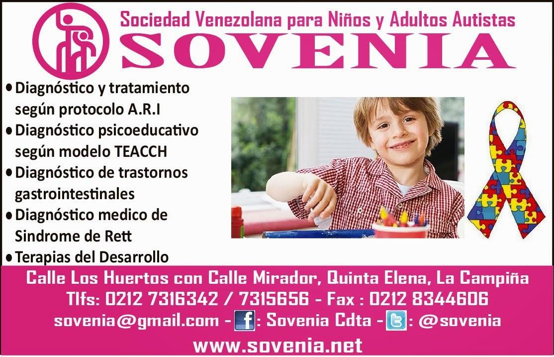 Sovenia, Sociedad venezolana para niños y adultos autistas