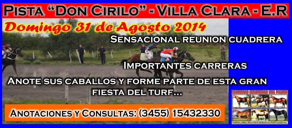 VILLA CLARA - 31.08.2014