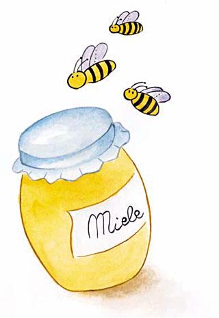 L 39 eco di patty le api la paura il miele e la for Immagini api per bambini