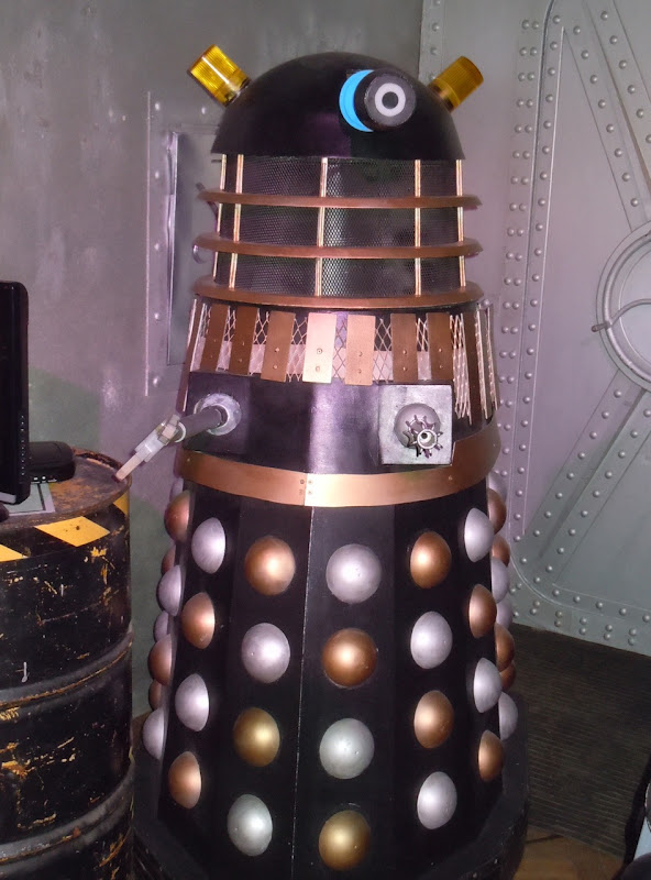 Dr Who and the Daleks 1965 movie props