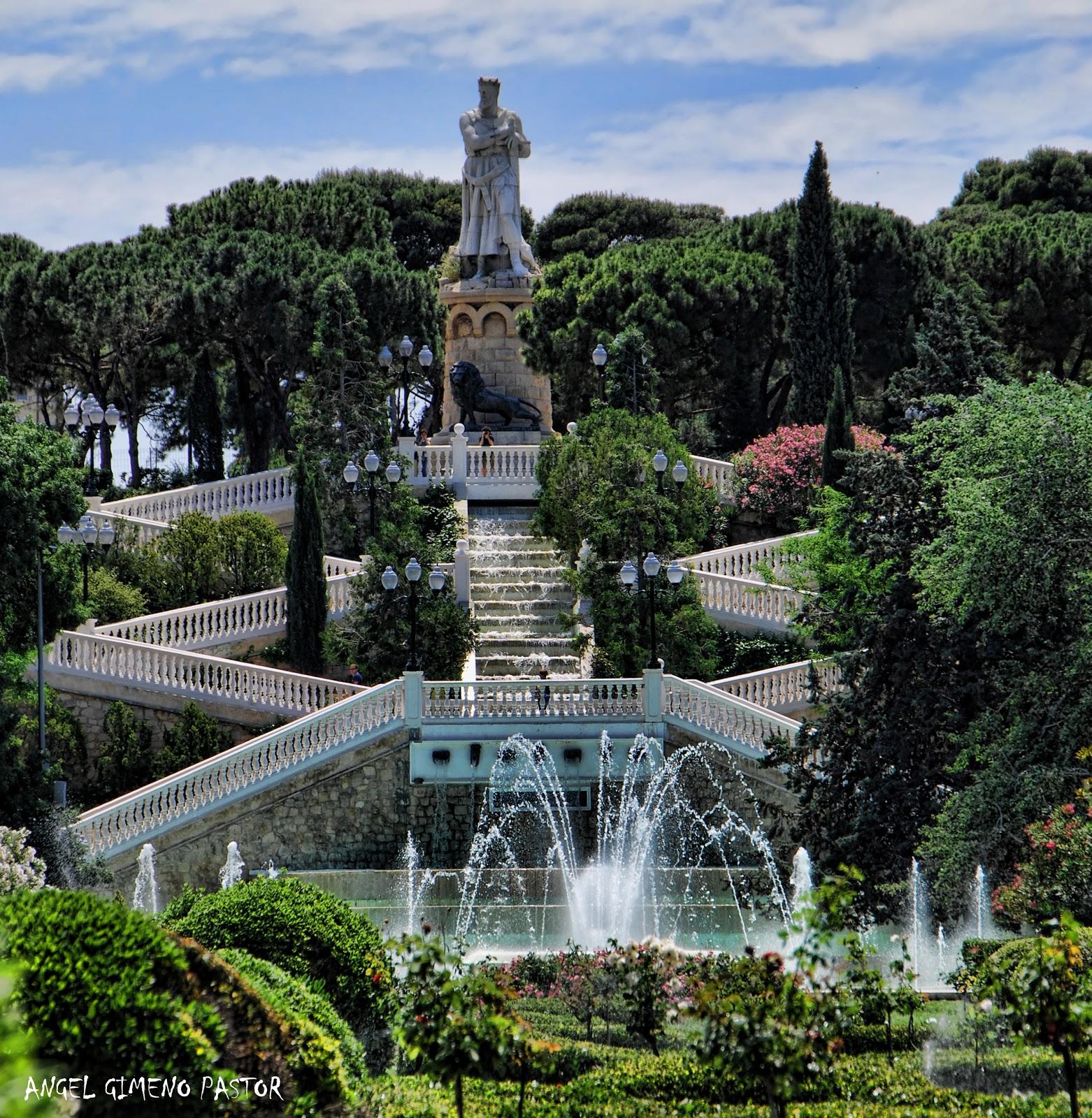 El blog de angel parque grande 14 semana for Jardin zaragoza